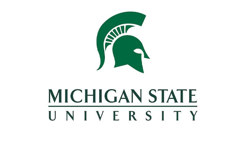 Logo Michigan State university